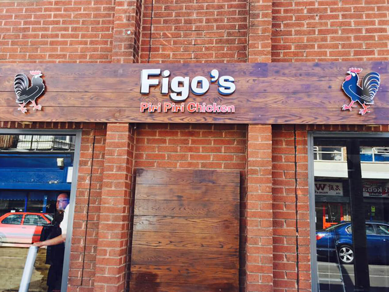 facia or shop front, illuminated or directional signage,  Rushden, Bedford, Wellingborough, Kettering