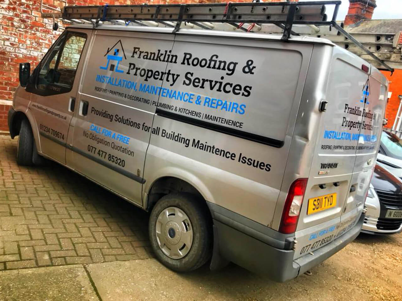 Van Livery, Rushden, Rushden, Bedford, Wellingborough, Kettering